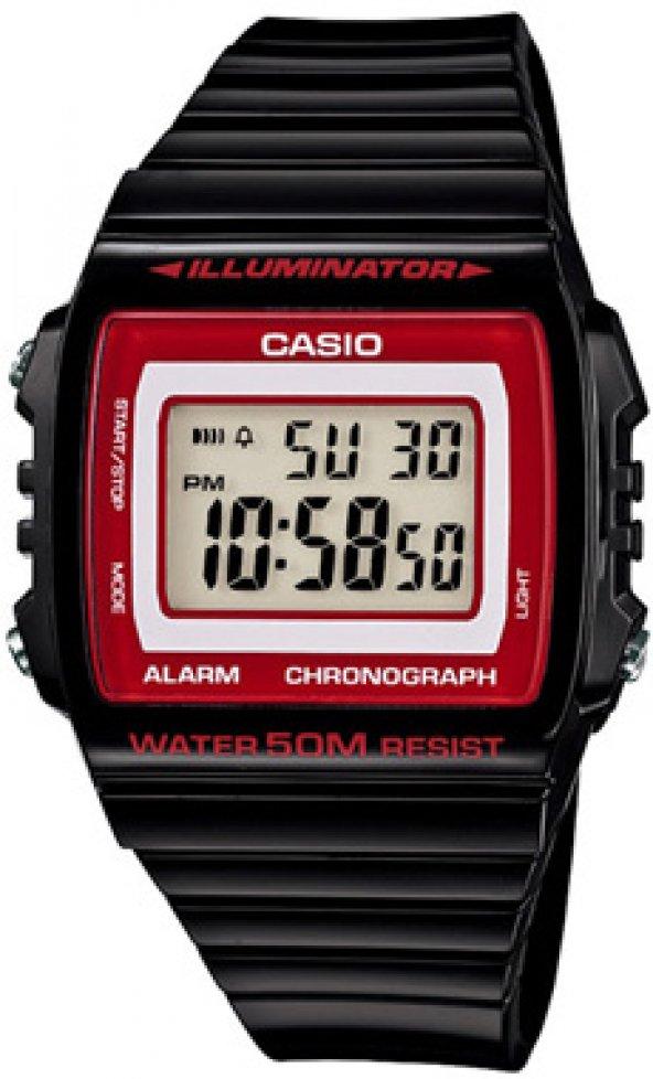 Casio W-215H-1A2VDF Digital Erkek Saati ERSA Garantili
