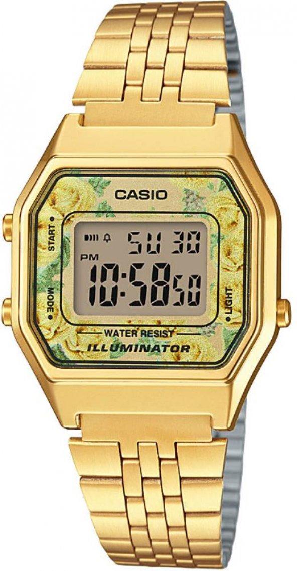 Casio LA680WGA-9CDF Retro Bayan Kol Saati ERSA Garantili