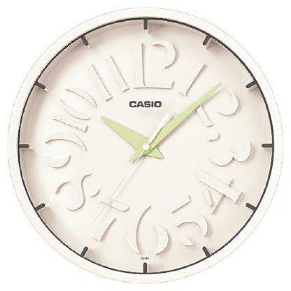Casio IQ-64-3DF Duvar Saati ERSA Garantili