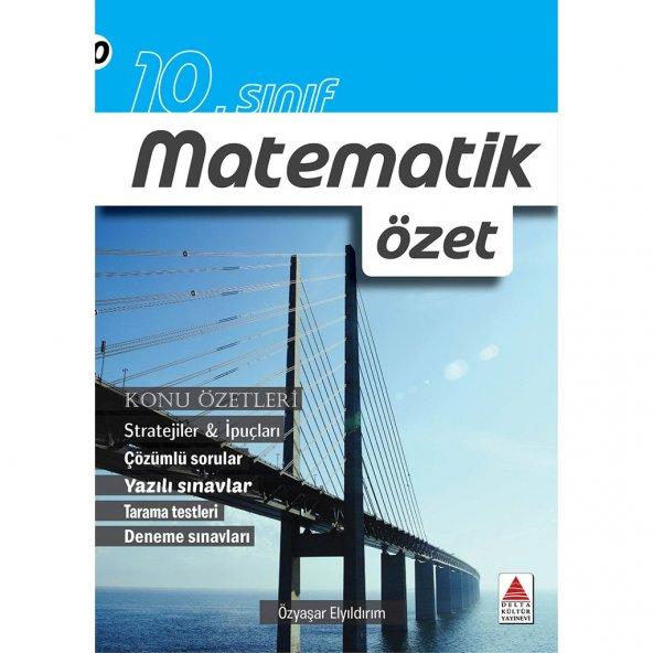 10. Sınıf Matematik Özet Delta Kültür Yayınları