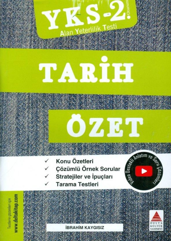 YKS 2.Oturum Tarih Özet Delta Kültür Yayınları