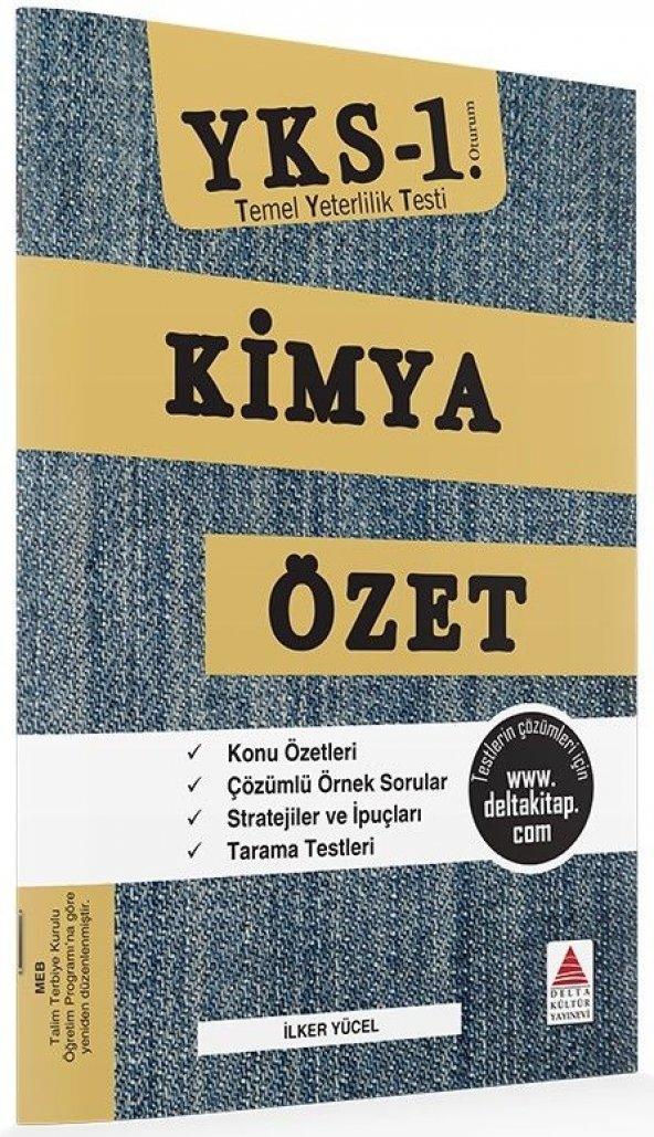 YKS TYT 1. Oturum Kimya Özet Delta Kültür Yayınları