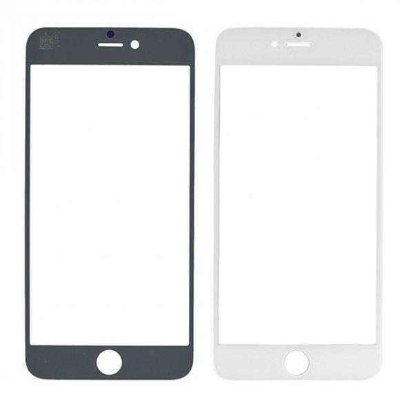 İphone 6S Dokunmatik Ocalı Çıtalı Ön Cam Lens Beyaz