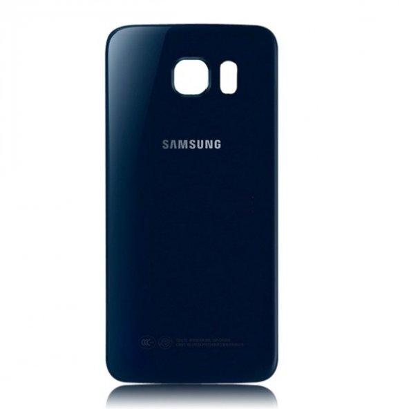 Samsung Galaxy S6 Edge SM-G925 Arka Pil Kapak Siyah