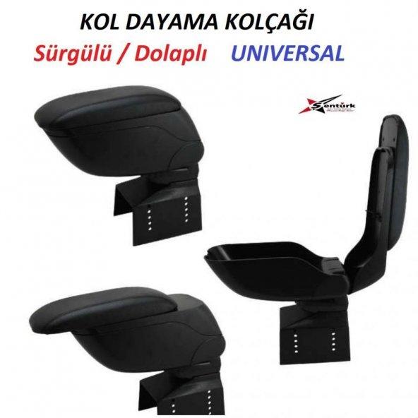 Volvo S40 Kol Dayama Oto Kolçak Sürgülü Siyah Renk