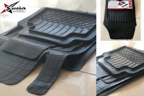 Kia Clarus Uyumlu Pufi Pro-Fit Havuzlu 3D Bariyerli Paspas Takımı Şaft üstülü Siyah