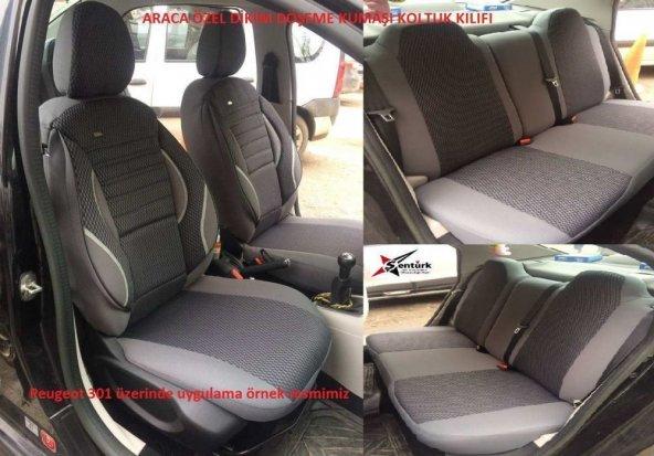 Toyota Corolla 2007-2012 Araca Özel Koltuk Kılıfı