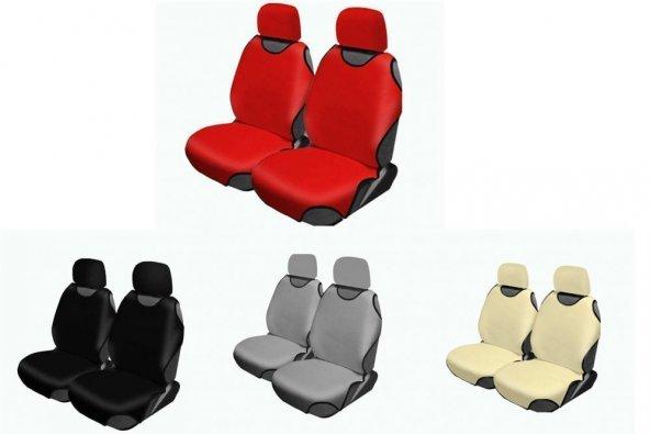 Dacia Tüm Modellerine Uyumlu Atlet Kılıf Oto Koltuk Kılıfı Atlet Model Ön 2 li Takım