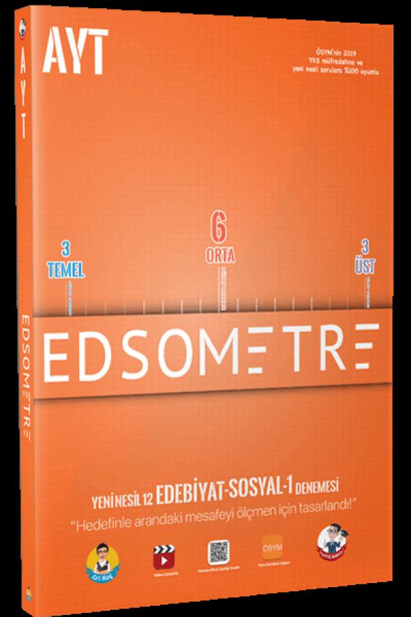Tonguç Yayınları AYT Edsometre 12 Edebiyat - Sosyal 1 Denemesi