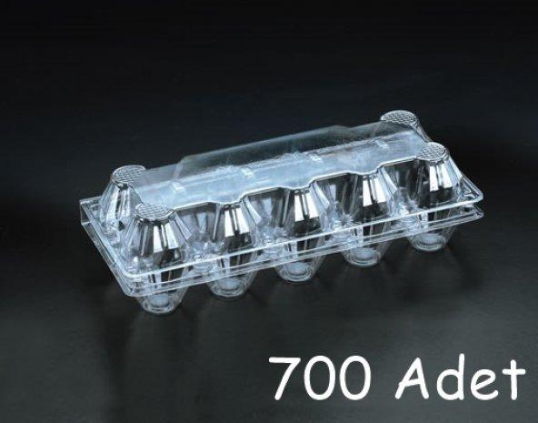 Plastik 10 lu Yumurta Viyolu (700 Adet) AnkaraViyol-ViyolPazarı