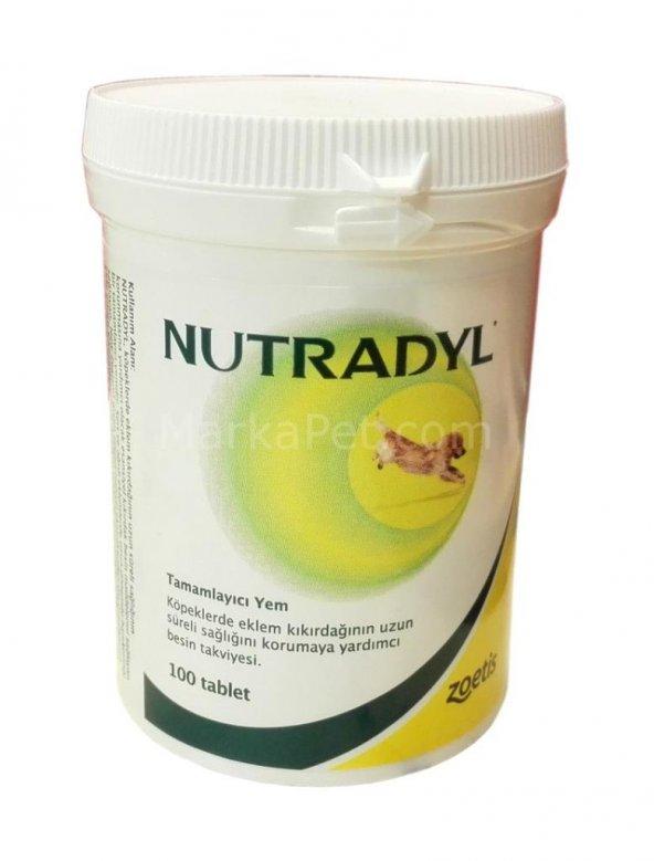 Nutradyl Köpek Eklem Destekleyici Tablet 100 Adet 07/2020