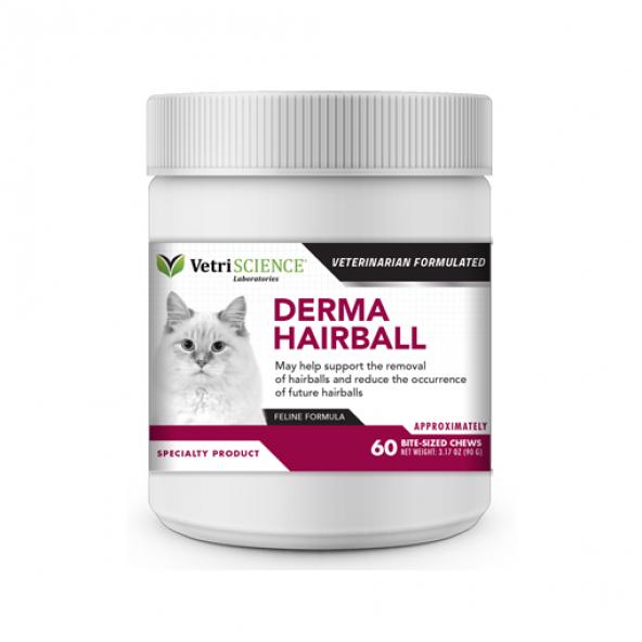 Vetri-Science Derma Hairball Çiğneme Tableti 60tb
