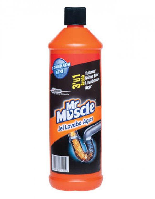 Mr. Muscle Lavabo Açıcı Jel 1000 Gr