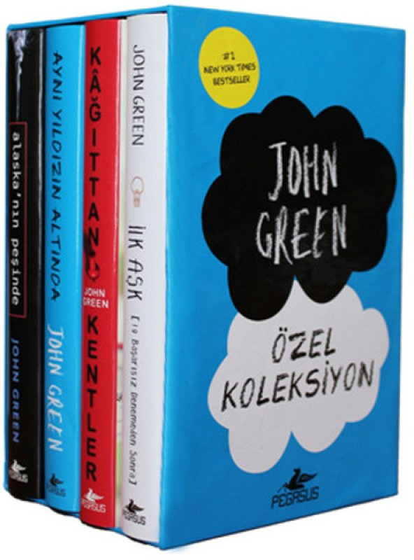 John Green Özel Koleksiyonu Set (4 Kitap)