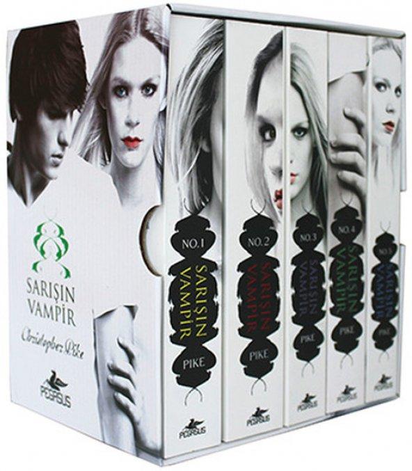 Sarışın Vampir Serisi Kutulu Set (5 Kitap)