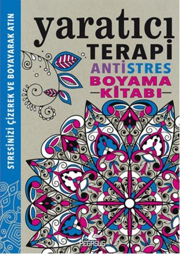 Yaratıcı Terapi Antistres Boyama Kitabı