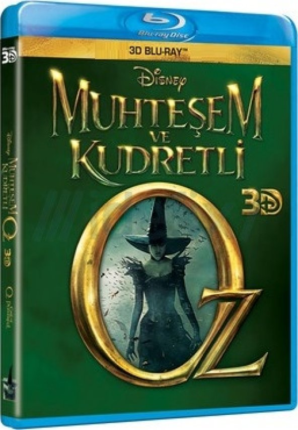Muhteşem Ve Kudretli Oz 3D Blu-Ray Tek Disk