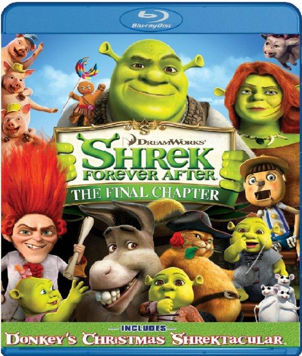 Shrek Forever After - Shrek Sonsuza Dek Mutlu Blu-Ray