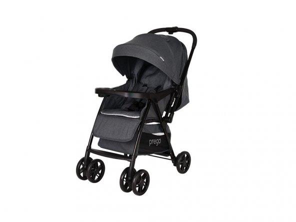 Prego 2095 Picallo Çift Yönlü Bebek Arabası Gri
