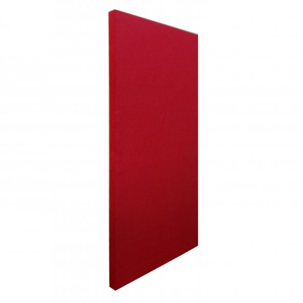 Kumaş Kaplı Akustik Sünger Panel 4 cm Kırmızı 60x120 cm