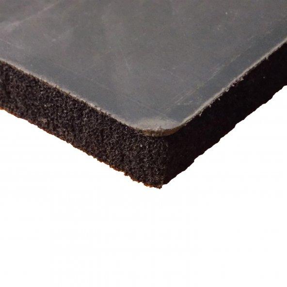 Bariyerli Ses İzolasyon Süngeri 2,3 cm Siyah 100x100 cm