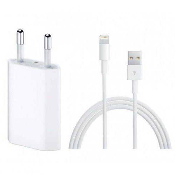 Apple Şarj Aleti Cihazı 6 7 8 X Kablo Adaptör