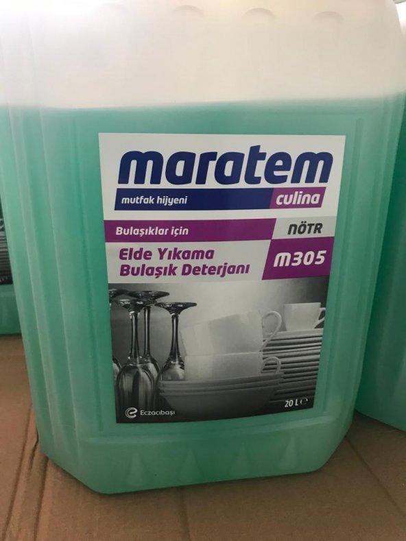 MARATEM M305 20 LT ELDE YIKAMA BULAŞIK DETERJANI