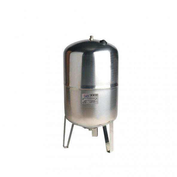 MIT 500 LT Dik Hidrofor Paslanmaz Genleşme Tankı (Manometreli)