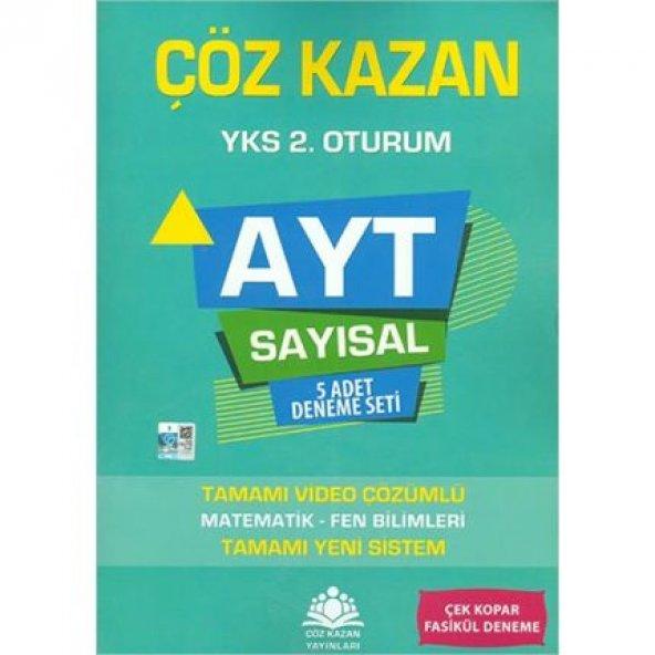 Çöz Kazan AYT Sayısal 5li Deneme Sınavı