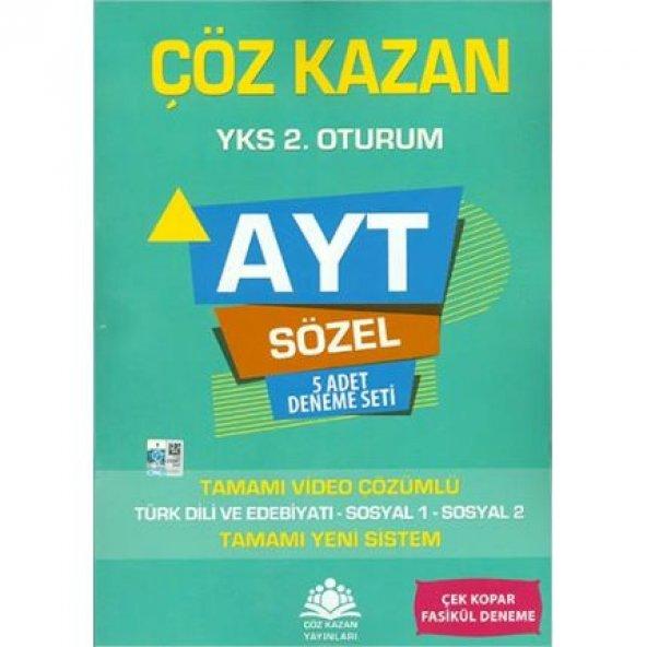 Çöz Kazan AYT Sözel 5li Deneme Sınavı