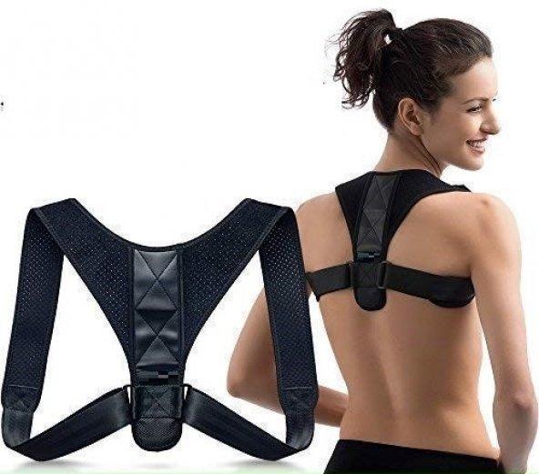 Yeni Model Dik Duruş Aparatı Kamburluk Önleyici Posturex Dik Durmayı Sağlayan Bel Sırt Destek Yeleği