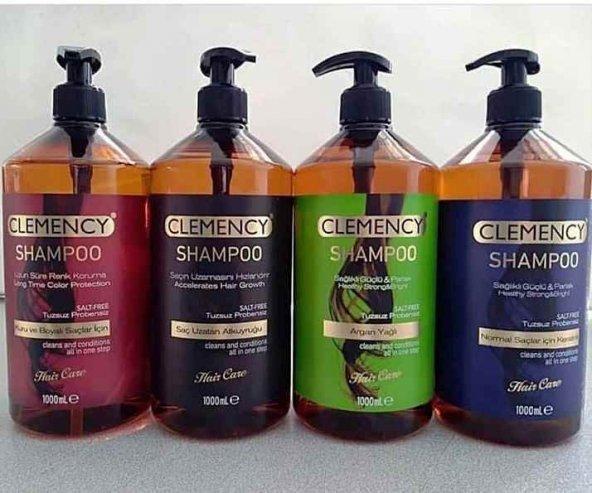 Clemancy Tuzsuz Bakım Şampuanı 1000 ml