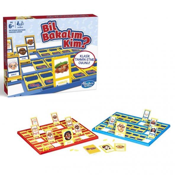 C2124 BİL BAKALIM KİM YENİ /Hasbro Kutu Oyunları