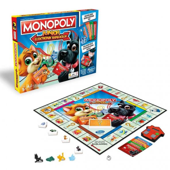 E1842 Monopoly Junior Elektronik Bankacılık /Özel Kampanya Fiyatı