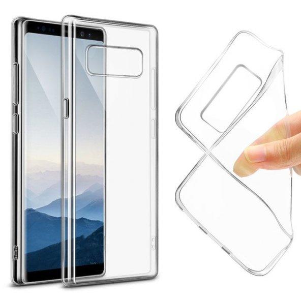 Samsung Galaxy A7 2016 SÜPER Şeffaf Silikon Kılıf