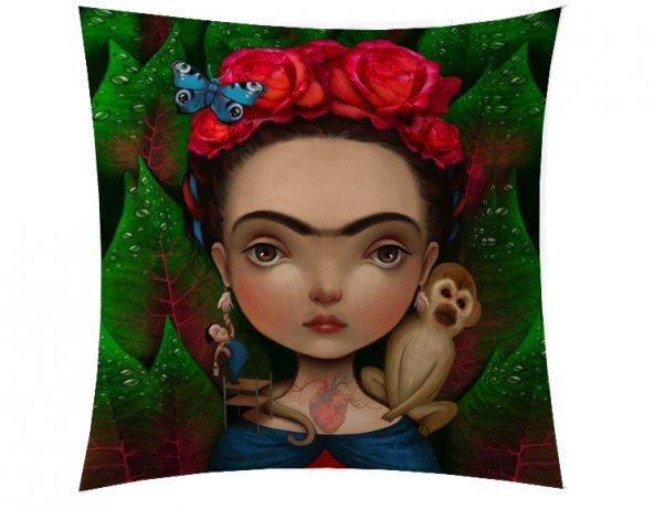 Maymunlu Frida Kırlent