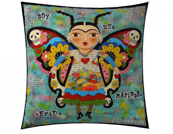 Kelebek Frida Kırlent