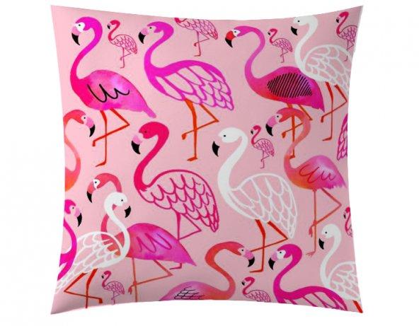 Flamingo Renkli Kırlent
