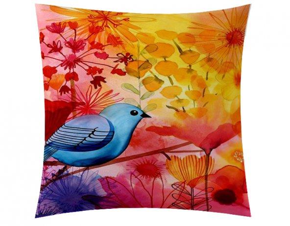 Mavi Kuş Kırlent