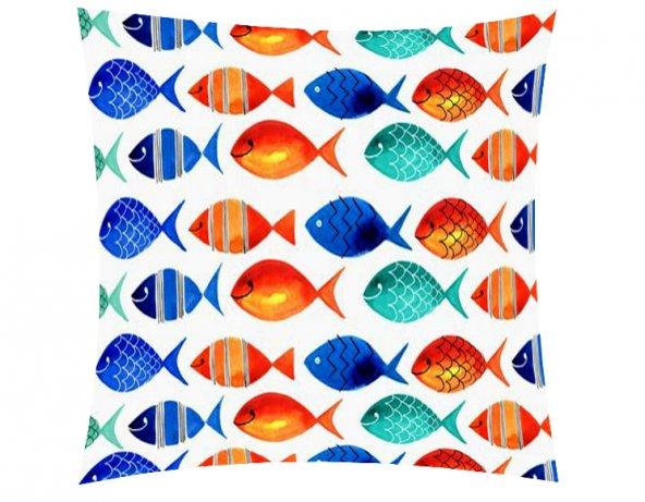 Mavi Balıklar Kırlent