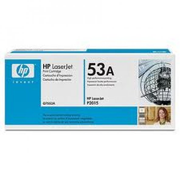 HP Q7553A (53A) SIYAH TONER 3.000 SAYFA