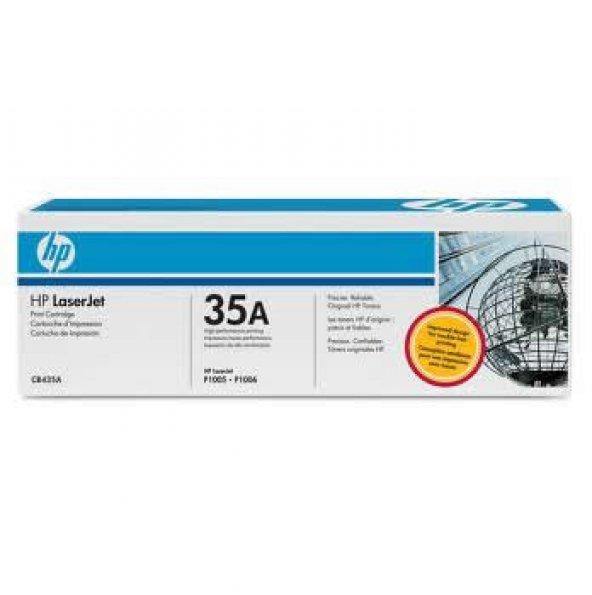 HP CB435A (35A) SIYAH TONER 1.500 SAYFA