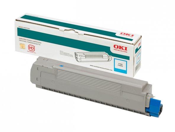 OKI 43865743 MAVI TONER / C5850, C5950, MC560 / 6000 SAYFA
