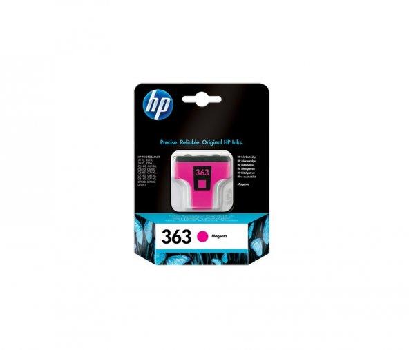 HP C8772EE (363) MACENTA MUREKKEP KARTUSU 370 SAYFA