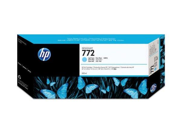 HP CN632A (772) ACIK CAMGOBEGI 300 ML GENIS FORMAT MUREKKEP KARTU