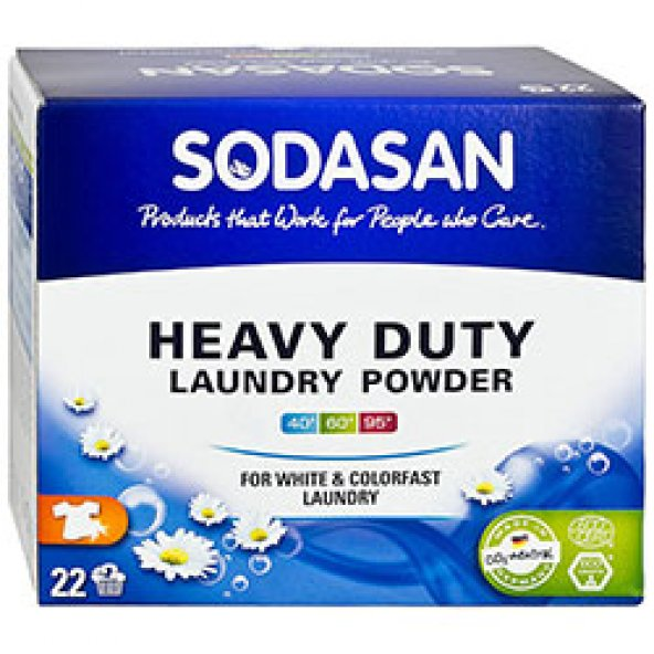 SODASAN Organik Çamaşır Yıkama Tozu 1,2kg