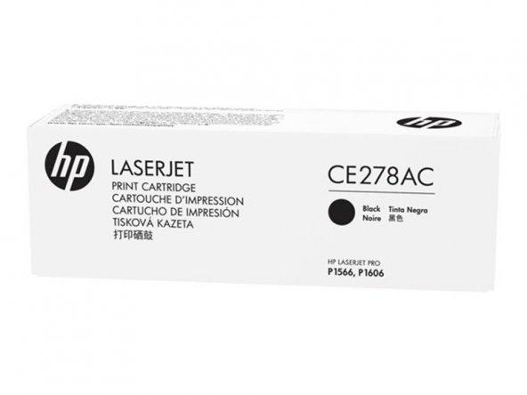 HP CE278AC (78A) SIYAH TAAHHUTLU TONER 2.100 SAYFA