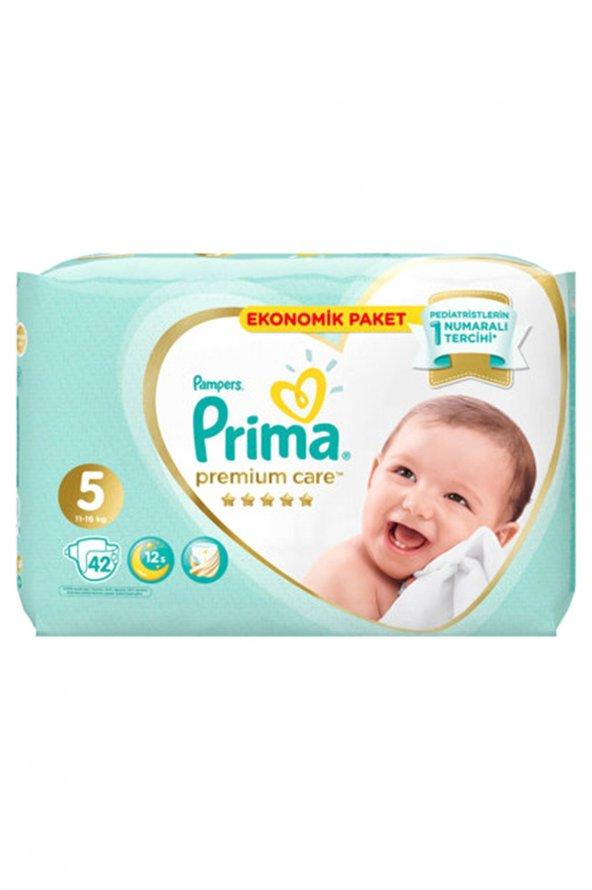Prima Premium Care No:5 Jumbo Paket 42Li Bebek Bezi