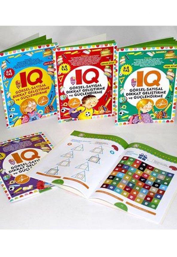 IQ Dikkat Geliştirme ve Güçlendirme Seti 6-8 Yaş - 5 Kitap