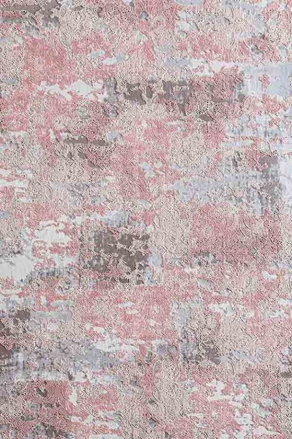 Pudra Renk Modern Salon Halısı - HS99003B